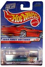 1998 Hot Wheels #644 First Edition #9 '63 T-Bird (red car card)