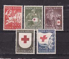 netherlands 1953 Sc B254/8 set,red cross,surtax      j7
