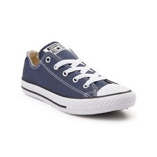 *New* CONVERSE Chuck Taylor All  Star Kids Classic Ox Trainers Blue UK Size 11.5