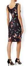 Monsoon Eleanor  Dress Size 14 Pencil Wiggle Shift Butterflies  New RRP£89