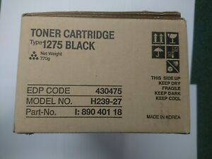 Genuine Original Ricoh Type 1275D Fax Toner Cartridge 430475, FREE DELIVERY