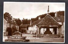 Vintage GB Postcard - 1950s The Market Cross, Castle Combe, Wiltshire