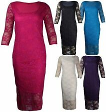 Polyester Stretch, Bodycon Machine Washable Floral Dresses for Women