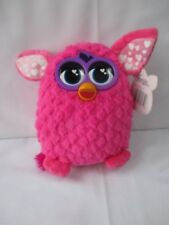 Plush 8'' Furby soft toy pink - 2013 Hasbro with tag