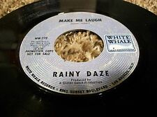 "Psych FUZZ 45 RAINY DAZE ""Make Me Laugh"" White Whale Label 1968!"