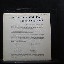 """Pioneer Pep Band - At The Game With The 10"""" LP VG- A30M 67861 Vinyl Record"""