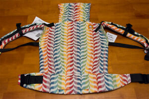 New Tula baby carrier Migaloo Happy wrap conversion with suck pads, toddler size