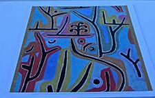 Paul Klee Poster Reprint of Park bei Lu 1919 18x17  Offset Lithograph