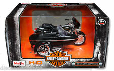 MAISTO 1:18 HARLEY-DAVIDSON 1998 FLHT ELECTRA GLIDE STANDARD WITH SIDECAR 76400
