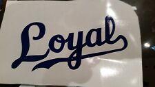 Kansas City Royals Vinyl Decal MLB 3x5choose from three designs