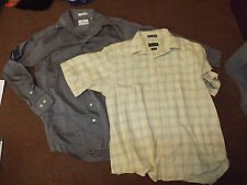 Lot of 2 men's oxford shirts size Med 15 - 15 1/2
