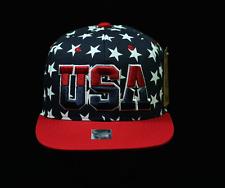 Plain Baseball Cap US Flag Caps USA Snapback Fashion Hat Flat Bill Camo Hats