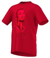 Boys Adidas T Shirt Chicago Bulls Kids NBA Derrick Rose Basketball Top Age 7-16