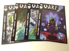 WARP-3 #1-4 (EQUINOX/1990/SCI FI VISIONS/MORALES/SEYMORE/011754) FULL SET OF 4