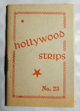 Hollywood Strips Booklet No. 23 Netherlands Maple Leaf Bubble Gum Premium