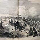 BEST 2 1861 CIVIL WAR newspapers CONFEDERATES WIN 1st BATTLE  BULL RUN Manassas