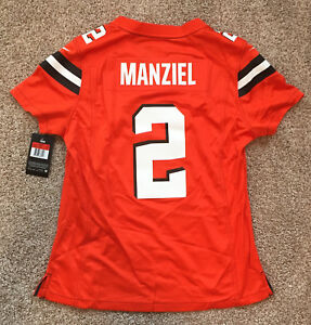 Johnny Manziel Cleveland Browns Nike Women's Game Jersey. U PICK COLOR AND SIZE!