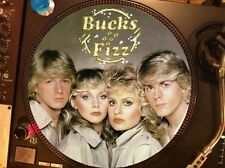 """Bucks Fizz - Making Your Mind Up Eurovision Rare 12"""" Picture Disc Single LP NM"""