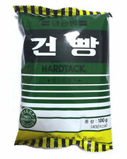 Korea Military Army MRE C Ration Food Hardtack Snack with Star Candies 4 Packs