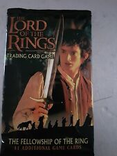 The Lord of the Rings trading card pack The fellowship of the ring  new