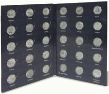 LIGHTHOUSE Presso Olympic 50 Pence Collectors Coin Album