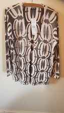 Gerry Weber Cosy Mood Edge to Edge knitted Jacket size 14 unique print design