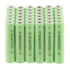 Multipurpose 36 Pcs AAA 3A 1.2 V 600mAh NI-MH Power Rechargeable Battery - Green