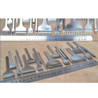 Leather Craft Tools Hole Chisel Graving Stitching Punch Tools Set 3 4 5 6MM SE