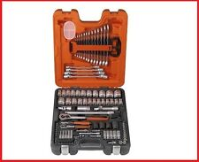 Bahco 106 Piece Mechanical Socket & Spanner Set S106 1/4'' & 1/2'' dr