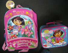 Dora & Boots BACKPACK & LUNCH TOTE  NEW!