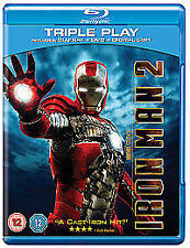 ,p Iron Man 2 Blue ray [2010]Robert Downey Jr. Action super heroes new & sealed
