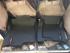 WeatherTech Floor Mats FloorLiner Silverado Sierra Extended Cab 1999-2006 Black