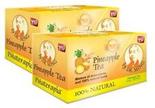 4 BOX DR MING PINA Pineapple Tea (60 Bags) Dr  Ming Chinese Weight Loss Te de