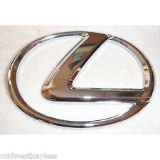 New OEM Logo L Chrome Front Grill Emblem Badge GS430 GS350 LS460 ES350 For Lexus