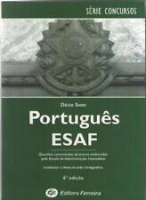 Portugues ESAF BRASIL - Questoes Escola Administraçao Fazendaria - Décio Sena