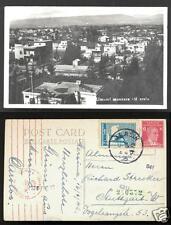 Mersin rppc Mosque Turkey CENSOR 2 stamps 1942