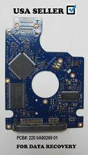 Hitachi PCB BOARD hts723225a7a364, SATA 2.5 250GB  PCB: 220 0A90269 01