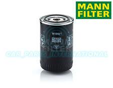 Mann Hummel repuesto de calidad OE Filtro de aceite del motor W 940/1