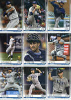 2019 Topps Complete (Series 1 & 2) Tampa Bay Rays Team Set of 21 Cards