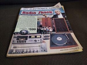 Vintage 1977 Radio Shack Catalog Electronics Audio Stereo Kits Parts