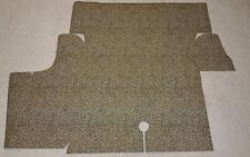 1969 1970 Ford Mustang Burtex Trunk Mat Liner Spatter Plaid Coupe Fastback Conve
