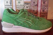 CONCEPTS X ASICS GEL RESPECTOR COCA H54GK SIZE 9.5 GREEN WHITE CNCPTS MONEY