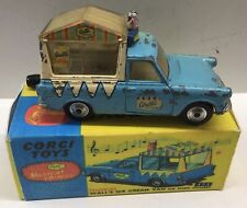 CORGI 474 MUSICAL WALLS ICE CREAM VAN. WITH PAINT WEAR IN GOOD REPRO BOX