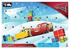 DISNEY PIXAR CARS CHRISTMAS ADVENT CALENDER BOYS DIECAST CARS NEW SEALED DECOR