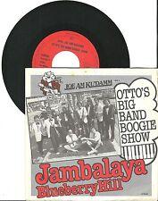 """Otto's Big Band Boogie Show, Jambalaya, G/VG,  7"""" Single, 1619"""