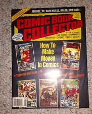 Vintage Magazine COMIC BOOK COLLECTOR Premiere Issue Vol 1 No 1 Jan 1993