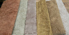 1/8 Metre Antique Style Viscose , Tan Brown (Fourth From Left)