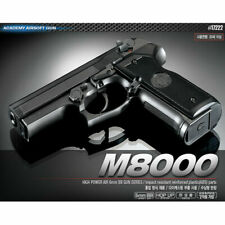[Academy] #17222 Cougar Airsoft Pistol BB M8000 Replica Hand Toy Gun 6mm