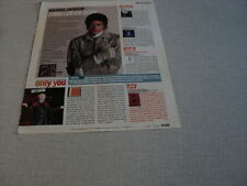 I201 MICHAEL JACKSON PET SHOP BOYS CHRISTINA AGUILERA CALI '2008 FRENCH CLIPPING