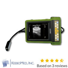 Keebomed Rku 10 Veterinary Ultrasound Machine With Rectal Probe For Large Animals